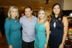 Linda Nunes, Luciano Rocha, Jaqueline Maia e Laís Sampaio