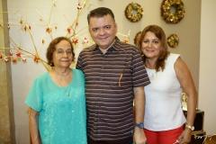 Luiza, Omar e Lucide Albuquerque