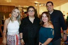 Luiza Pontes, Cláudia Sampaio, Auri Deusdará e Fernando Ferrer