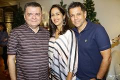 Omar Albuquerque, Luciana Brasileiro e Clóvis Lopes