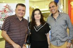 Omar Albuquerque, Miyuki Viana e Josafá Neto