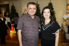 Omar Albuquerque e Miyuki Viana