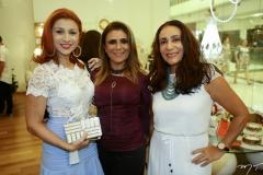 Patrícia Porto, Adélia Albuquerque e Gilvana Aragão