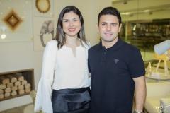 Taline Rabelo e Simon Ráfaga