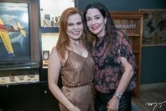 Adriana Praxedes e Caroline Ribeiro