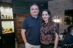 Cristiano e Caroline Ribeiro
