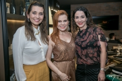 Márcia Travessoni, Adriana Praxedes e Caroline Ribeiro