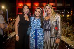 Angelina Parente, Beatriz Carneiro e Cris Cavalcante