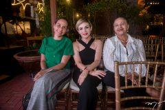 Deborah Araújo, Sarah Mota e Neide Araújo