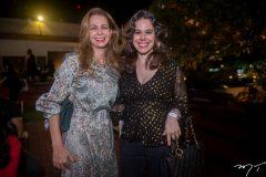 Larissa Queiroz e Mirela Tomaz