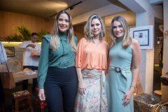 Zaíra Mendes, Viviane Ferreira e Juliana Hissa