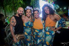 Netinho Nogueira, Di Ferreira, Lorena Nunes e Pepita York