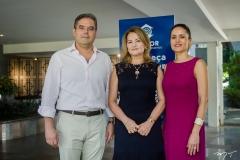 Edson Queiroz Neto, Lenise Queiroz Rocha e Manoela Bacelar