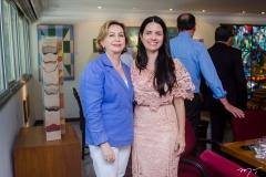 Fátima Veras e Lilian Sales