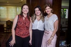 Janaina Farias, Ana Quezado e Cristina Praça