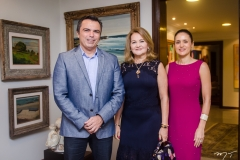 Juvêncio Viana, Lenise Queiroz Rocha e Manoela Bacelar