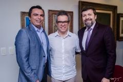 Juvêncio Viana, Fabiano Piúba e Élcio Batista