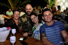 Ana Paula Rezende, Leo Montenegro, Andrea Lopes e Ricardo Cantiliano