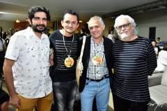 Carlos Henrique, Eduardo Gaudino, Eriberto Braga e Joaquim Cartaxo