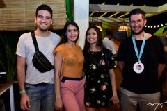 Esmael Chagas, Andrea Aquino, Gabriela Vasconcelos e João Baltazar
