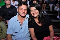 Fábio Scatone e Patrícia Saboya