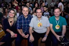 Jacir e Luiz Roberto Santos, Fábio Ambrósio e Gustavo Burtoli