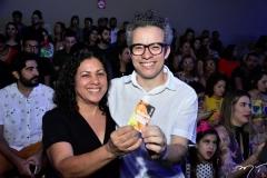 Maria Albuquerque e Fabiano Piuba