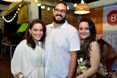 Rafaela Teixeira, Italo Andres e Sara Carneiro