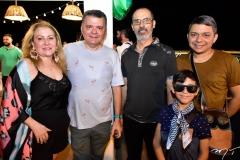 Tieda Moreira, Omar Albuquerque, Sidney Viana, Carlos e Roger Zaranza