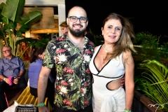 Victor Alves e Adelia Albuquerque