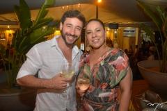 Junior e Daniela Fernandes