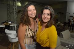 Luciana Alencar e Lia Feijó