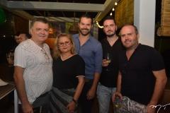 Omar Albuquerque, Lucia Silveira, Railson Tavora, Jerson Munayer e Roberto Pamplona