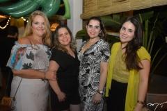 Ozane Aguiar, Renata Praciano, Germana Dantas e Michele Farias
