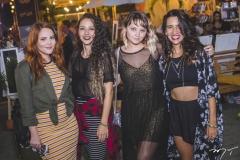 Paula Amaral, Thais Narciso, Thaynara Pinheiro e Dáfany Duarte