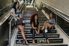 Sabrina Paulino, Elisa Cavalcante e Renata Ricardo