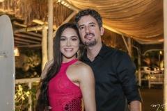 Amanda Lucas e Danilo Ferraz