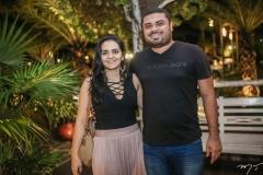 Fabricia Vieira e Julio Lima