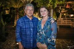 Laedio Medeiros e Katia Girão