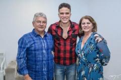 Laedio Medeiros, Marcos Lessa e Katia Girão