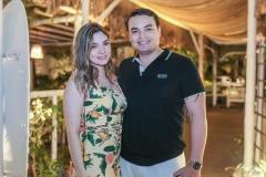 Mariele Cherne e Luis Fernando