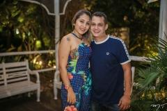Roberta Caetano e Lucas Bezerra