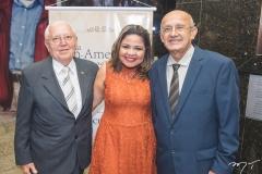 Antônio Eduardo Dias, Juliana Andrade e José Francisco dos Santos