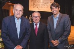 Carlos Oliveira, Francisco Filgueiras e Carlos Oliveira Júnior