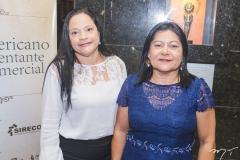 Elza Abrel e Lucimar Alves