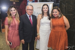 Fernanda Séfora, Francisco Filgueiras, Karina Nunes e Juliana Andrade