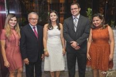 Fernanda Séfora, Karina Nunes, Francisco Filgueiras, Vitor Fernandes e Juliana Andrade