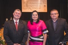 Frederico Alencar, Ana Cláudia Martins e Marcos Mendes