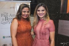 Juliana Andrade e Fernanda Séfora