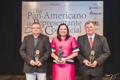 Marcos Mendes, Ana Cláudia Martins e Frederico Alencar
